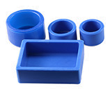 EM Metallographic Supplies: Silicone embedding cups