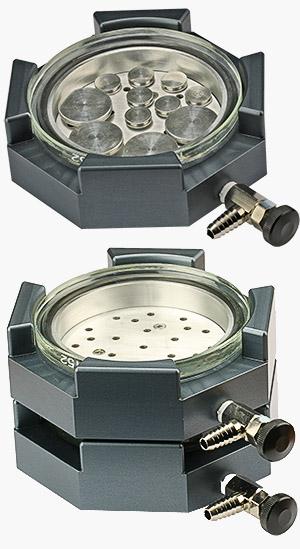 Attrayant EM Tec EM Storr Vacuum Sample Storage Container