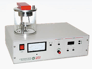 Cressington 108manual SEM sputter coater