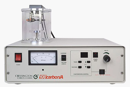 Cressington 108 series automatic SEM carbon coater