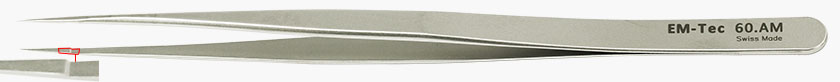 EM-Tec high precision slim tweezers