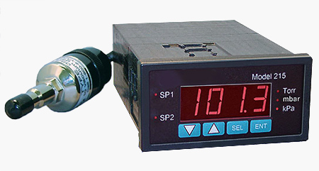 D215V vacuum controller with A536 Thermocouple sensor