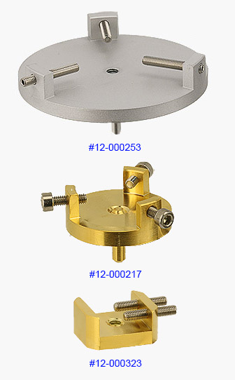 EM-Tec bulk SEM sample holders