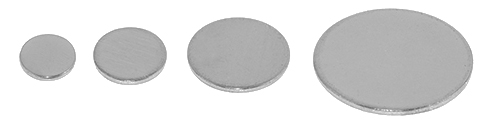 Metal Specimen Support Discs for AFM and SPM