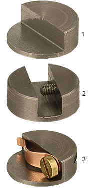 Nano-Tec 90 degrees sample mounts and sample holders for AFM and SPM