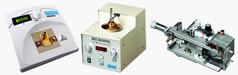 X-TEM full sample preparation kit with Microsaw MS3, Micropol MC3 and Microheat MH4