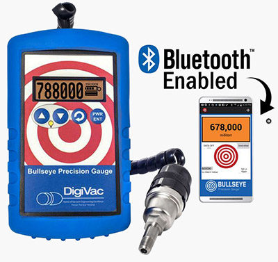 Wireless Vacuum Gauge | The Bullseye Precision Gauge® with Bluetooth