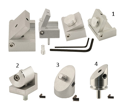 EM-Tec variable tilt and pre-tilt angle holders from Macro to Nano