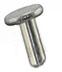 Micro to Nano 10-002006 SEM pin stub Ø6.4 diameter top, standard pin, aluminium