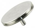 10-002025 Micro to Nano SEM pin stub Ø25.4 diameter top, standard pin, aluminium