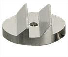 Hitachi  Ø25x8mm M4 angled SEM sample stub, double 45/90 degree, aluminium