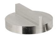 Hitachi  Ø32x12mm M4 angled SEM sample stub, double 90 degree, aluminium