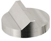 Hitachi  Ø32x12mm M4 angled SEM sample stub, 45 and 90 degree, aluminium
