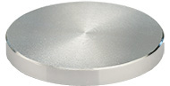 JEOL  Ø50x5mm cylinder SEM sample stub, aluminium