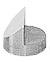 JEOL  Ø12.2x10mm angled SEM sample stub with 45 and 90 degree, aluminium