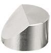 JEOL  Ø25x16mm angled SEM sample stub with 45 degree, aluminium