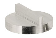 JEOL Ø32x12mm angled SEM sample stub with double 90 degree, aluminium