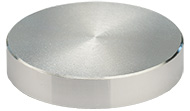 JEOL  Ø50x10mm cylinder SEM sample stub, aluminium