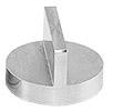 JEOL  Ø25x16mm angled SEM sample stub with double 90 degree, aluminium