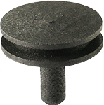 EM-Tec high purity carbon SEM pin stub Ø12.7mm top x 8mm L, standard pin
