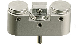 EM-Tec FS21 FIB grid and sample holder for up to 2 FIB grids and  Ø12.7mm pin stub, pin