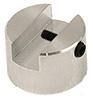 EM-Tec HS6 mini M4 cylinder stub vise clamp 0-6mm, Ø15x10mm, M4