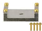 EM-Tec SC2R recessed SampleClamp SEM holder, 25x15mm sample area, M4