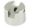 EM-Tec JS4 mini cylinder stub vise clamp 0-4mm, JEOL  Ø12.2x10mm