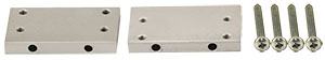 EM-Tec CVE1 extension plates 22.5x40x5mm extends CV1 up to 155mm