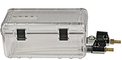 EM-Tec Save-Storr 2 sample storage container for inert gas, clear PC, 1.75ltr