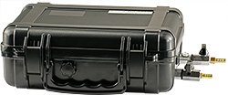 EM-Tec Save-Storr 7 sample storage container for inert gas, black ABS, 7.1 ltr