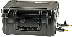 EM-Tec Save-Storr 10 sample storage container for inert gas, black ABS, 10.5 ltr