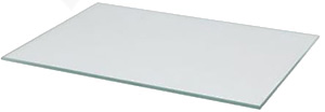 Micro-Tec PrepPlate, clear hardened glass plate, 36x26cm