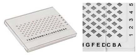EM-Tec GB-100 TEM grid storage box for 100 TEM grids