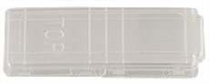 Micro-Tec M1 single microscope slide mailer, 1 slide capacity, natural PE