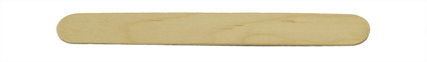 Micro-Tec FM flat wooden applicator sticks, large, 150 x 19 x 1.6mm, birch wood