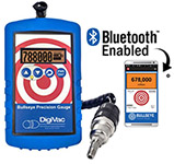 Bullseye Bluetooth wireless precision vacuum gauge with Thermocouple sensor, 1/8inch NPT