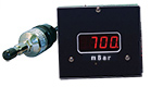 D801W2c-mb wide range vacuum gauge, mBar,  A536 Thermocouple sensor,  2 set-points, 5V & RS232 output, 1/8inch NPT