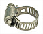 Hose clamp for 12mm hose, stainless steel