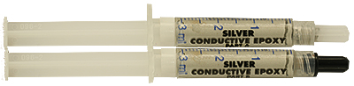 EM-Tec AG30 long working time, extreme conductive silver filled epoxy, 21g in 2 syringes